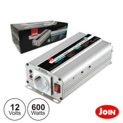 Conversor Join KINV0600 - 12V-220V - 600W - onda sinusoidal modificada - para Automovel