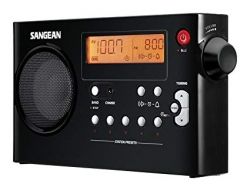 Radio Sangean PR-D7 - a bateria/s - preto ou branco