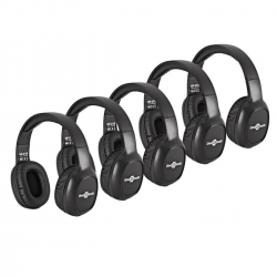 Pack de 5 Headphones Gear4Music HP-170