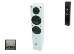 Coluna Koda D65F BL/WH - 120-240W - 2x6,5 polegadas - preto ou branco