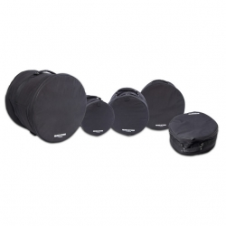 5 Malas de Bateria Music Store BagSet Pro II Studio DBS 02 - 20x18, 10x10, 12x10, 14x14 e 14x6,5 polegadas