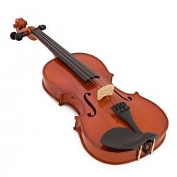 Violino Acustico Gear4music Student Full Size - 4/4 - natural, preto, azul, roxo, branco ou antique fade