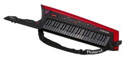 Teclado Roland AX-Edge Keytar - Sintetizador - 49 teclas - 2 USB + MIDI - preto