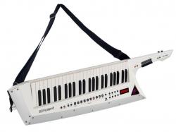 Teclado Roland AX-Edge Keytar - Sintetizador - 49 teclas - 2 USB + MIDI - branco