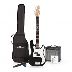 Pack Harley Gear4Music LA - Baixo + Amplificador + Saco + Cabo + Alca