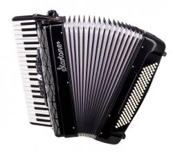 Acordeon Startone Piano Accordion 120 BK - de teclas - preto