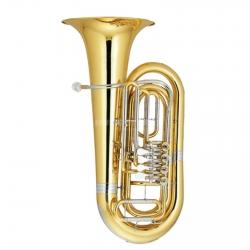 Tuba Monzani MZBB-500 Bb - Si bemol - 4 pistoes