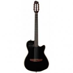 Guitarra Semi-Acustica Godin ACS-SA PB HG - Nylon - preto perola brilhante