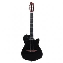Guitarra Semi-Acustica Godin ACS-SA Slim BP HG - Nylon - preto perola