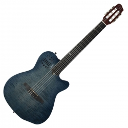 Guitarra Semi-Acustica Godin ACS - nylon - denim blue flame