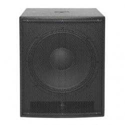 Subgrave amplificado Music Store GO! Sub 18A - 1.000W - 18 polegadas