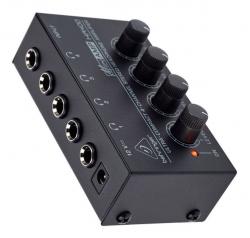 Pre-Amplificador para Phones Behringer HA400 Microamp - 4 vias