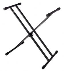 Suporte para Teclado Millenium KS-1010 - em X - com dupla aste - preto ou branco