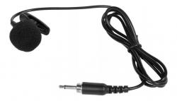 Micro com fio lapela - tambem para ligar aos Emissores dos Micros sem fio - ligacao Jack mini mono - com clip