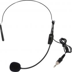 Micro com fio headset - tambem para ligar aos Emissores dos Micros sem fio - ligacao Jack mini mono
