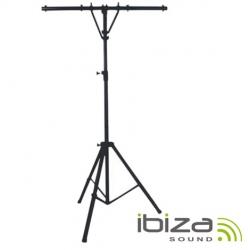 Tripe para Luzes Ibiza SL002 - formato em T - metal - sobe 2,80m - suporta 45Kg