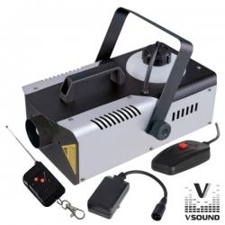 Maquina de Fumo VSound VSFUMOS1200C - 1.200W - analogica - comando a distancia