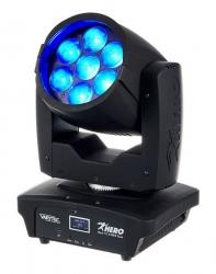 Moving-Head de Leds Varytec Hero Wash 712 Z RGBW Zoom - 84W - Wash - DMX + Zoom