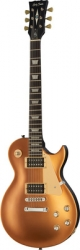 Guitarra Harley Benton SC-400 SGT Classic Series - LP style - silk-make gold top