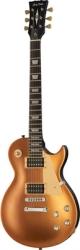Guitarra Harley Benton SC-400 SGT Classic Series - LP style - silk-make gold top