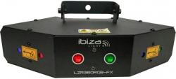 Laser sextuplo LZR360RGB-FX - 360mW - RGB - DMX