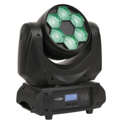 Moving-Head de Leds Showtec Juno 2-in-1 Effect - Lens Rotation - 54W - Wash - DMX + Rotacao Frontal das Lentes