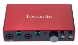 Interface de Audio Focusrite Scarlett 8i6 3nd Gen - USB + MIDI
