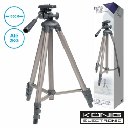 Tripe para Camera fotografica ou de Video - Konig TRIPOD21/4