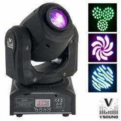 Moving-Head de Leds VSound LEDMV160W - 60W - Spot - DMX