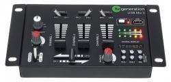 Mesa de Mistura Fun Generation USB Mix 3 - 3-4 vias - USB + MP3 + ligacao para 2 Micros
