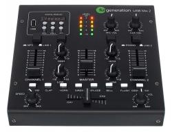 Mesa de Mistura Fun Generation USB Mix 2 - 3 vias - USB + MP3 + Efeitos