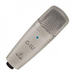 Microfone para Voz Behringer C1U - USB - condensador