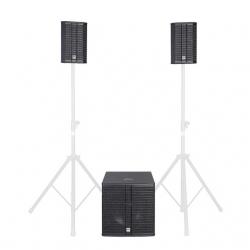 P.A. amplificado HK Audio Lucas 2K18 - Subgrave + 2 Tops - 2.000W