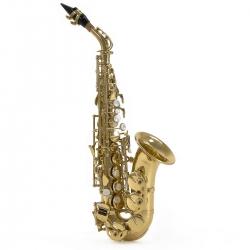 Saxofone Soprano Gear4Music - curvo