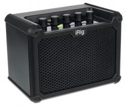 Amplificador de Guitarra IK Multimedia iRig Micro Amp - 15-30W - 4 polegadas - micro USB + Efeitos - a bateria/s