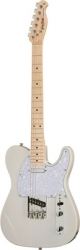 Guitarra Harley Benton TE-30 BE Standard Series -Telecaster style - branco