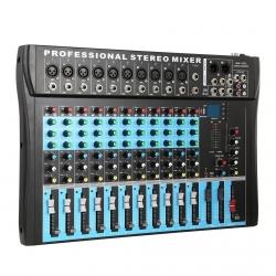 Mesa de Mistura 3 C CT12 Professional Stereo Mixer - 12 vias - USB - MP3