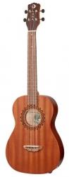 Ukelele Semi-Acustico Luna Guitars Uke Vintage Mahogany Baritone - Baritono - natural