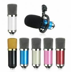 Microfone para Voz 3 C NW/BM-700 - condensador - varias cores