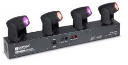 Barra com 4 Moving-Head de Leds Cameo HydraBeam 400 Cree RGBW - 4x10W - DMX
