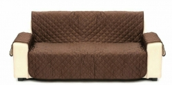 Capa para Sofas Sofa Cover - de 3 lugares (igual ao Sofa Saver) - em preto, azul, vermelho, verde, branco, rosa, cinza, cahky ou castanho escuro