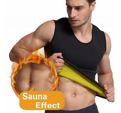 Colete de Fitness KLS Reduce Shaper - para homem - emagrece por efeito de sauna barriga e costas (igual ao Redu Shaper) - em preto