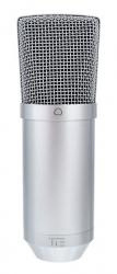 Microfone para Voz TIE Studio Condenser Mic USB Silver - USB - condensador