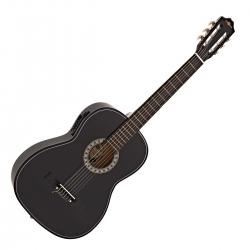 Guitarra Semi-Acustica Gear4Music Classical Electro Acoustic Guitar - 4/4 - nylon - preto ou natural