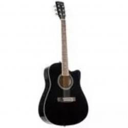 Guitarra Semi-Acustica Red Hill D-1-CE NT/BK - 4/4 - nylon - preto ou natural