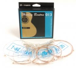 Jogo de Cordas Harley Benton coated phosphor anti rust - bronze - Guitarra Acustica ou Semi-Acustica - 013