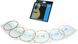Jogo de Cordas Benton coated phosphor anti rust - bronze - Guitarra Acustica ou Semi-Acustica - 010/011/012