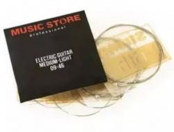 Jogo de Cordas Music Store electric guitar - nickel - Guitarra Electrica - 009/010