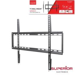 """Suporte de parede para TV Led/Lcd/Plasma Superior Electronics SUP-3770FIXEDSLIM - 37"""" a 70"""" - ate 35Kg - slim"""
