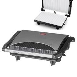 Grelhador/Torradeira/Barbecue anti-aderente Master Chef - 750W - placas em ceramica